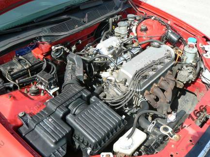 Радиатор охлаждения двс Toyota Duet (Тойота Дуэт) 1998