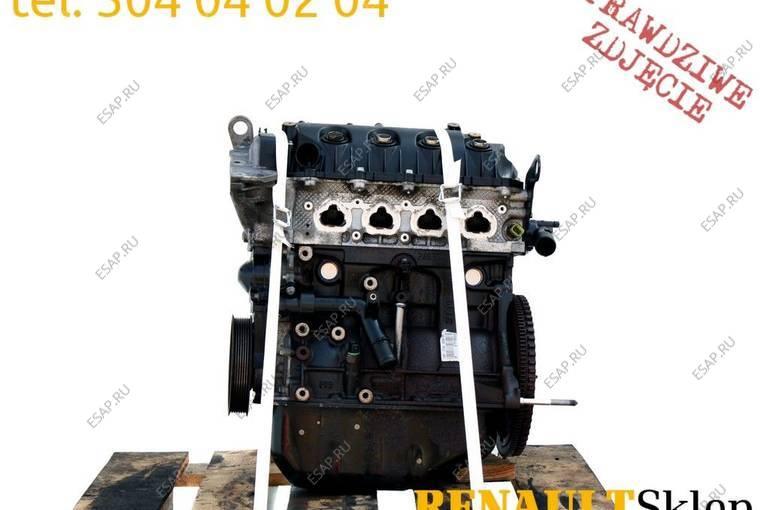 двигатель D4F 740 722 CLIO II III MODUS 1.2 16V 75KM