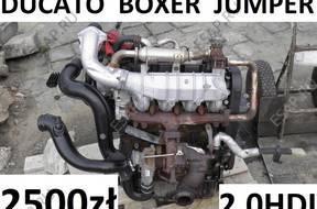 двигатель DUCATO 2.0 JTD JUMPER BOXER двигатель 2.0 HDI