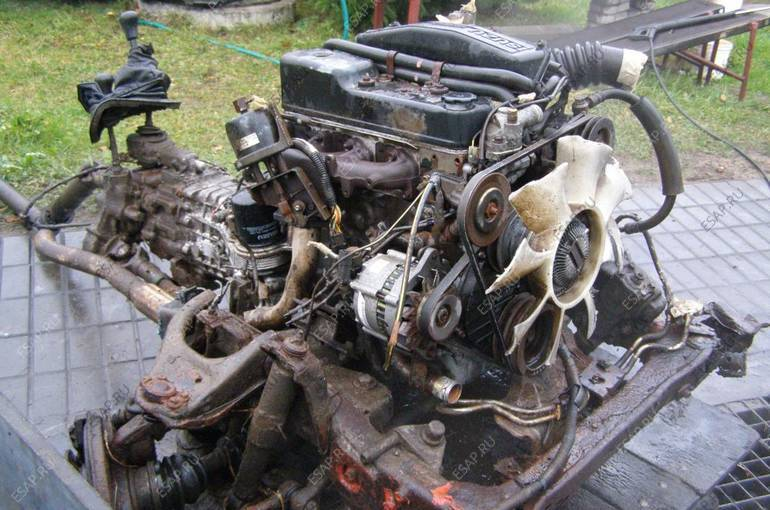 бу тестированный двигатель Audi A4, VW Passat 16i AHL из