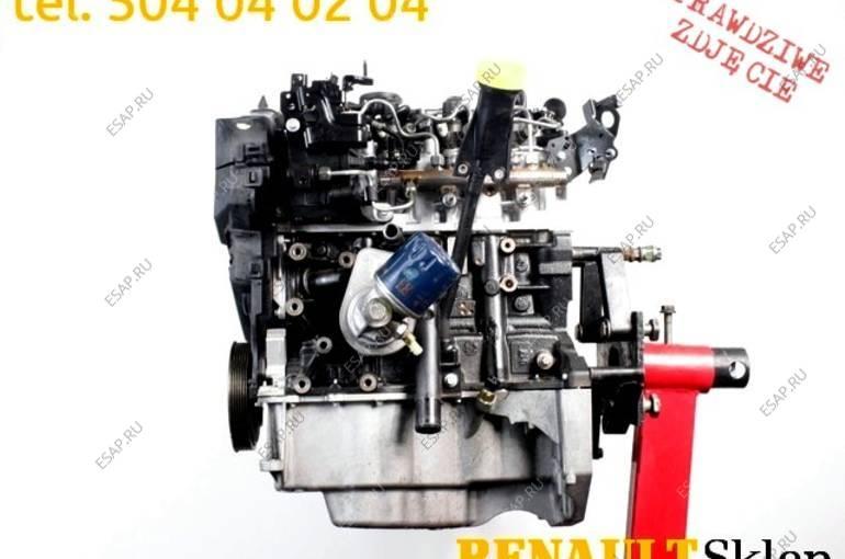 двигатель K9K 636 MEGANE SCENIC III 1.5 DCI 110KM KPL