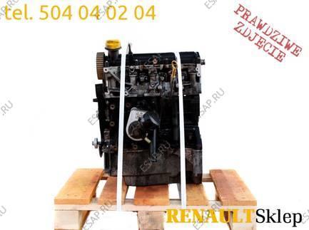 двигатель K9K 714 KANGOO CLIO II III 1.5 DCI 68KM