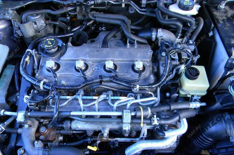 двигатель как новый zmontaem RF7J 2,0CiTD Mazda 3 5 6