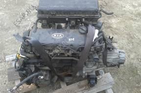 двигатель KIA RIO 1.3 8V 60KW A3E