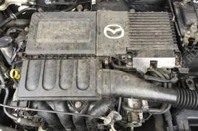 двигатель комплектный MAZDA 3 лифт. версия 1.6 16V 105KM