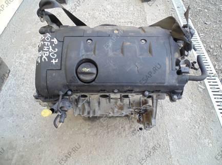 двигатель PEUGEOT 207 1.6 16V 10FHBC 2008 год.