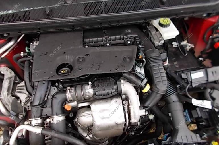 двигатель  PEUGEOT 308 T9 1.6 HDI DV6FC 120 KM 2015
