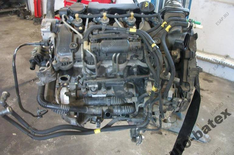 двигатель PEUGEOT CITROEN 1.6 HDI 16V KATOWICE MONTA