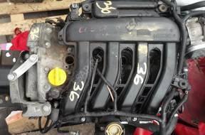 двигатель RENAULT K4J 1.4 16v 1,4 Clio Megane Modus
