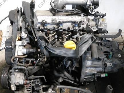 двигатель Renault Laguna 1,9 DCi F9Q D670 2005 год КОМПЛЕКТНЫЙ 120