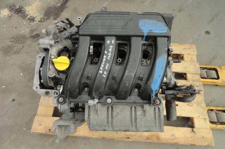 двигатель RENAULT LAGUNA II 2.0 16V F4 год, 712