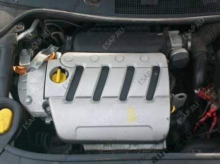 двигатель RENAULT MEGANE SCENIC espace 2.0 16V  F4