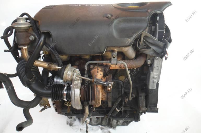 двигатель RENAULT SCENIC LAGUNA 1,9 DTI F9QF716 КОМПЛЕКТНЫЙ