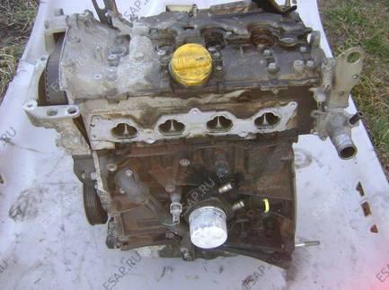 двигатель RENAULT VEL SATIS ESPACE IV 2.0T 03-06 год,