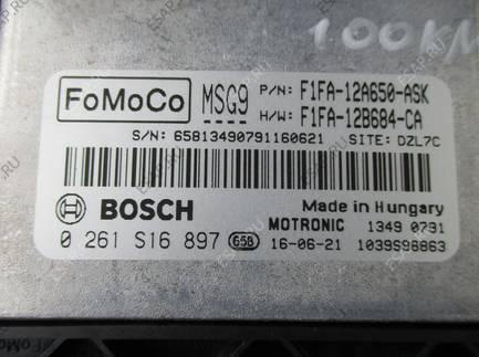 FORD FOCUS III MK3 LIFT 1.0 ECOBOOST БЛОК УПРАВЛЕНИЯ