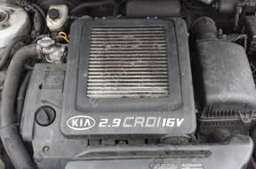 Kia Sedona Carnival 03 двигатель 2,9CRDI комплектный J3