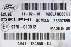 комплект ЭБУ  AV41-12A650-DJ FORD KUGA MK1