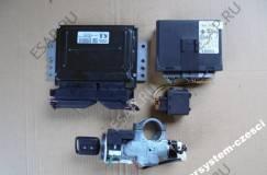 комплект ЭБУ MEC37-050 F1 5X25 K9 модуль комфорта 5WK4 8122 NISSAN PRIMERA P12 1.8 B