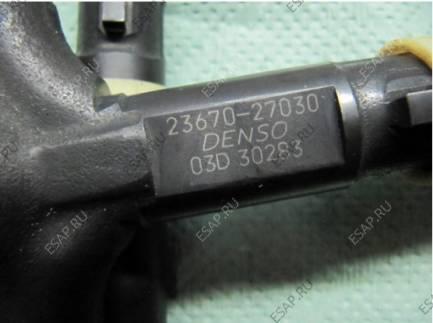 комплект форсунок DENSO 23670-27030 OEM 23670-29035 TOYOTA PREVIA / AVENSIS /RAV4 1CD-FTV 2.0 D4D