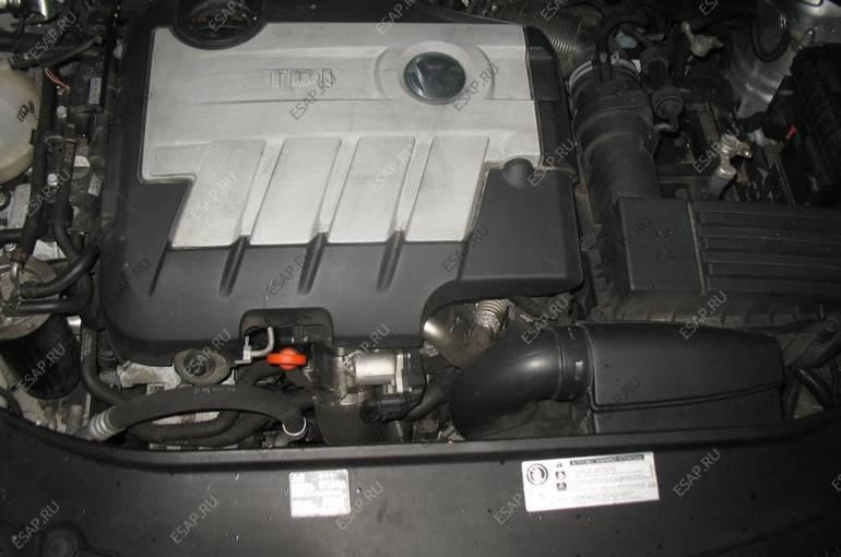 комплектный двигатель VW PASSAT B6 2.0 TDI CBBB