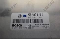комплектный ЭБУ 2D0906019A 0281010588 VW LT 2.8 TDI