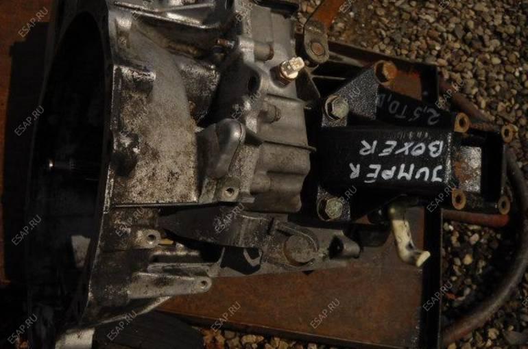 КОРОБКА ПЕРЕДАЧ PEUGEOT BOXER CITROEN JUMPER 2,5 D