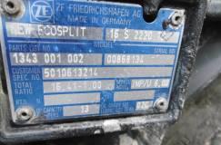КПП ECOSPLIT ZF 16S2220TD 1343001002 IVECO MAN
