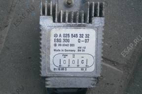 MERCEDES W210 БЛОК УПРАВЛЕНИЯ ВЕНТИЛЯТОРОМ A0255453232