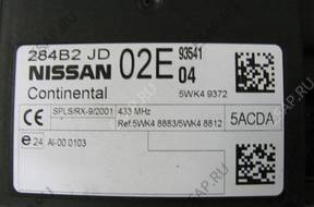 МОДУЛЬ komfortu Nissan Qashqai 284B2JD