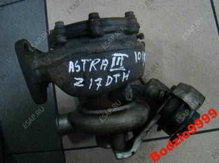 OPEL ASTRA III 1.7 Z17DTH ТУРБИНА 697300-0925