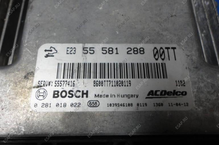 Opel Corsa D 1.3 CDTI БЛОК УПРАВЛЕНИЯ 0281018022