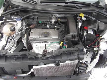 PEUGEOT 207 1.4 8V бензиновый двигатель MAY PRZEBIEG
