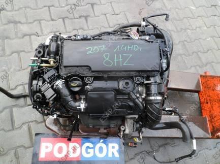 PEUGEOT 207 1.4 HDI 8HZ двигатель