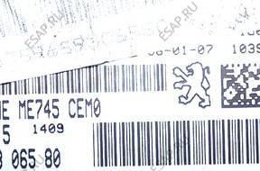 PEUGEOT 307 1.6 16V КОМПЛЕКТ ЗАЖИГАНИЯ 9659306580