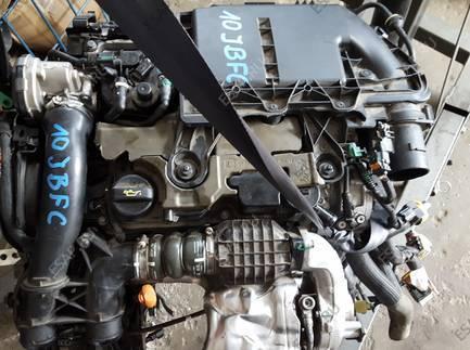 PEUGEOT 308 II T9 двигатель MOTOR 10JBFC  1.6 HDI