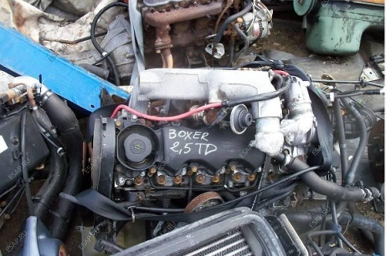 Peugeot Boxer 2.5 TD КОРОБКА ПЕРЕДАЧ ДВИГАТЕЛЬ