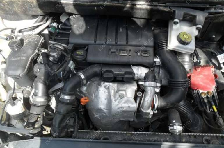 PEUGEOT PARTNER 307 207 3008  двигатель 1.6 HDI DV6