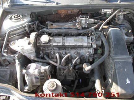 RENAULT LAGUNA 1 двигатель 1,8 8V PENY WTRYSK