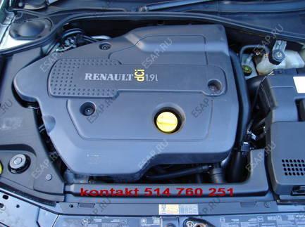 RENAULT LAGUNA 2 ESPACE IV двигатель 1.9DCI 120KM F9K