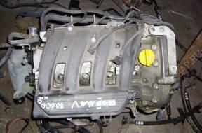 RENAULT LAGUNA двигатель  1.6  16V