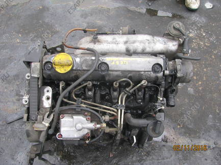 RENAULT LAGUNA и 1.9 DTI F9QF716 двигатель