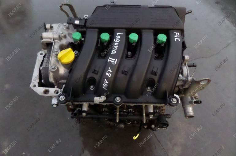 RENAULT LAGUNA II двигатель  F4C 1.8 16V