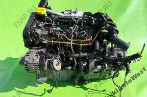 RENAULT MEGANE DACIA LOGAN двигатель 1.5 DCI K9KA728