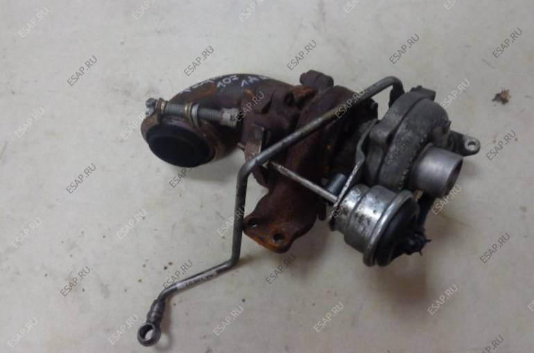 ТУРБИНА Turbosprężarka  Peugeot 107 1.4 hdi