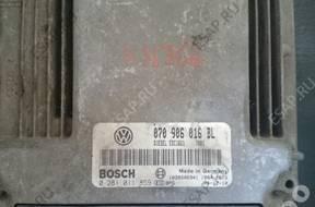 VW 070906016BL 0281011859 EDC16U1