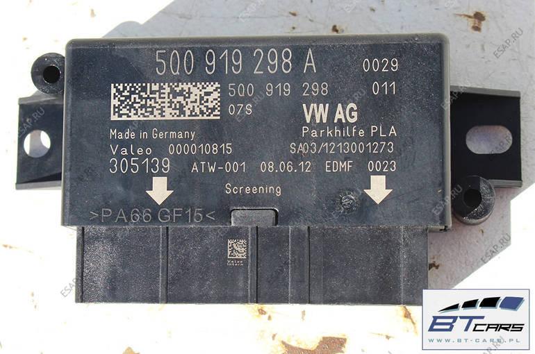 VW GOLF 7 AUDI A3 МОДУЛЬ БЛОК УПРАВЛЕНИЯ PDC 5Q0919298A