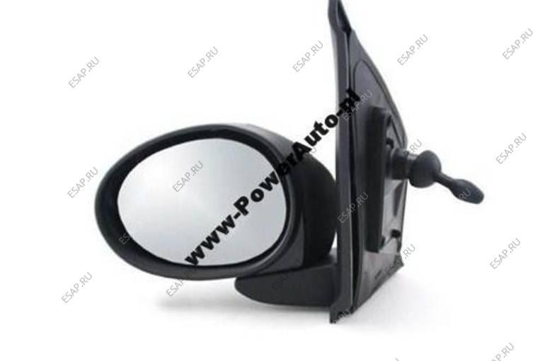 зеркало боковое  ЛЕВОЕ МЕХАНИЧЕСКОЕ  PEUGEOT 107 2005 год-2012 год