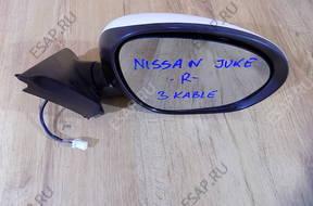 зеркало боковое NISSAN JUKE  ПРАВОЕ 3 PIN ЕВРОПЕЙСКАЯ ВЕРСИЯ