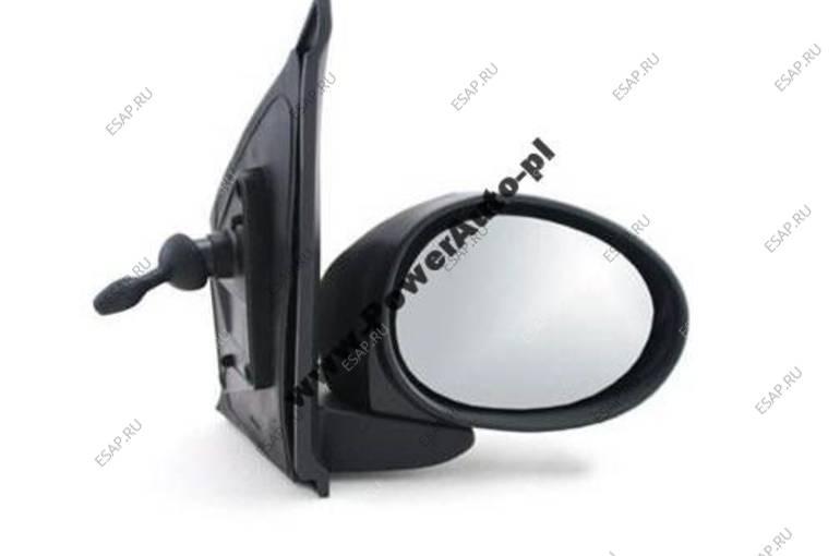 зеркало боковое  ПРАВОЕ МЕХАНИЧЕСКОЕ  PEUGEOT 107 2005 год-2012 год