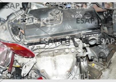 """Двигатель  1,4 16V NISSAN NOTE """"06 год,. Бензиновый"""
